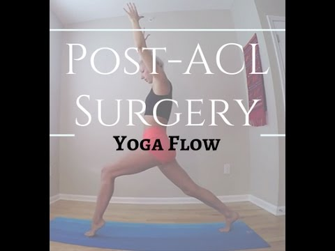 Post-ACL Surgery Yoga Flow l Nina Elise Yoga