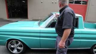 """1964 Ford Ranchero 302 V-8  """" SOLD  """"  Drager's International Classic Sales  206-533-9600"""