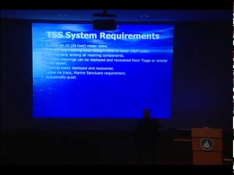 Whale Detection System Helps Prevent Ship Strikes - 2008 Lecture