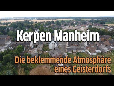 Kerpen-Manheim: Geisterdorf wird von RWE Power für Braunkohle-Abbau weggebaggert