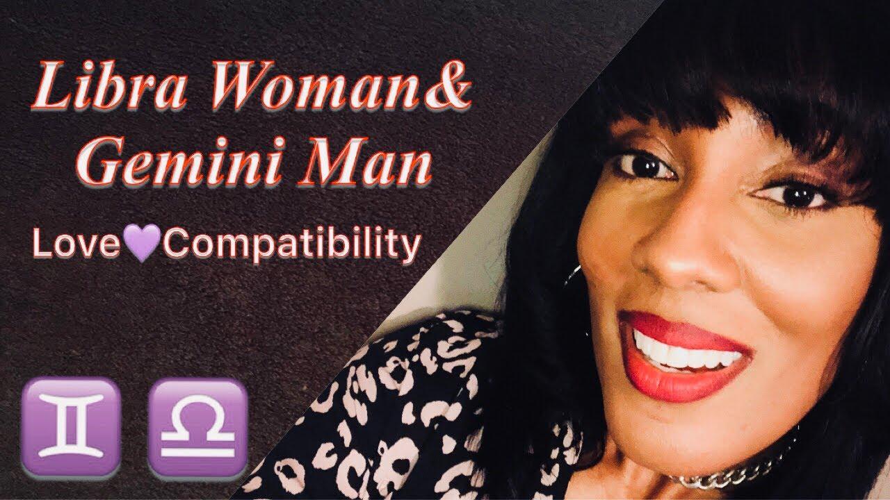 Gemini man and libra woman in love
