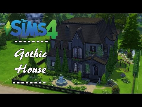 Sims 4 Building   Gothic House