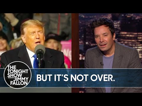 White House Claims Trump Ended COVID-19 Pandemic | The Tonight Show