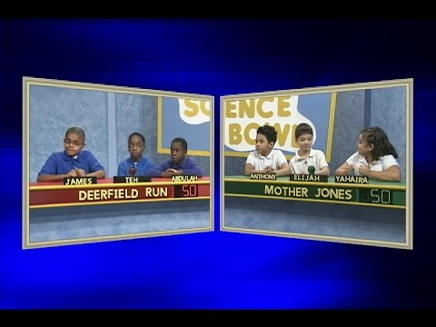 Science bowl 2014-15: Mother Jones vs. Deerfield Run