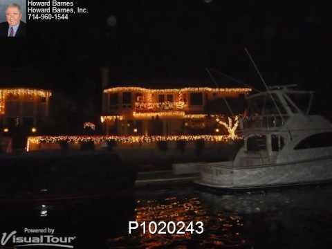 Huntington Harbor Christmas Lights