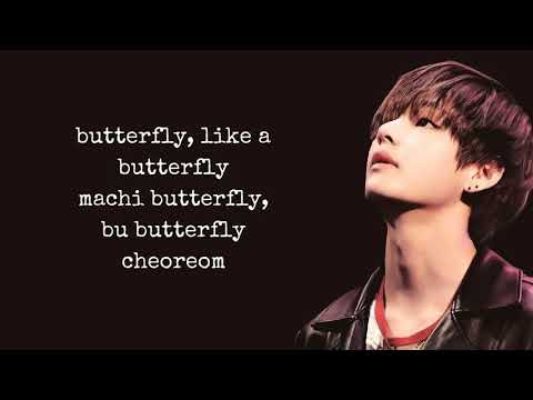 BTS - Butterfly (Lyrics)