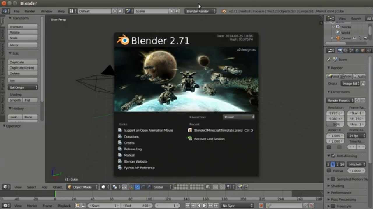 How to create minecraft 3d models using blender for Minecraft 3d model maker