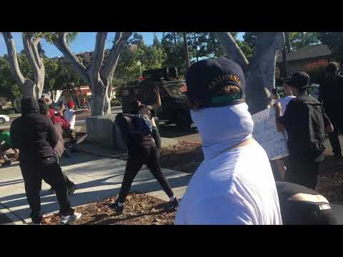 Peaceful La Mesa protests marred by violence