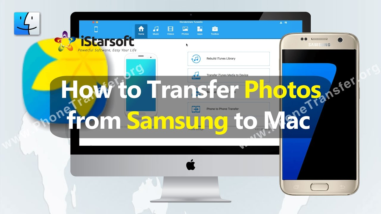 How To Transfer Photos From Samsung To Mac (macos 1012 Sierra Supported)