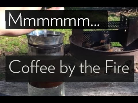 """Campfire Coffee with the """"American Press"""" Coffee Maker"""