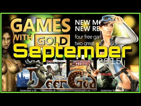 Free Games With Gold September 2015 Games With Gold Xbox