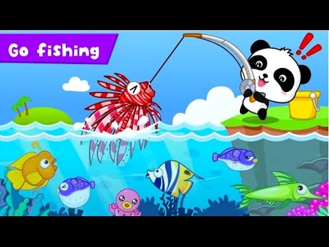 Happy Fishing|Explore The Mysterious Ocean Habitat |BabyBus Kids Games