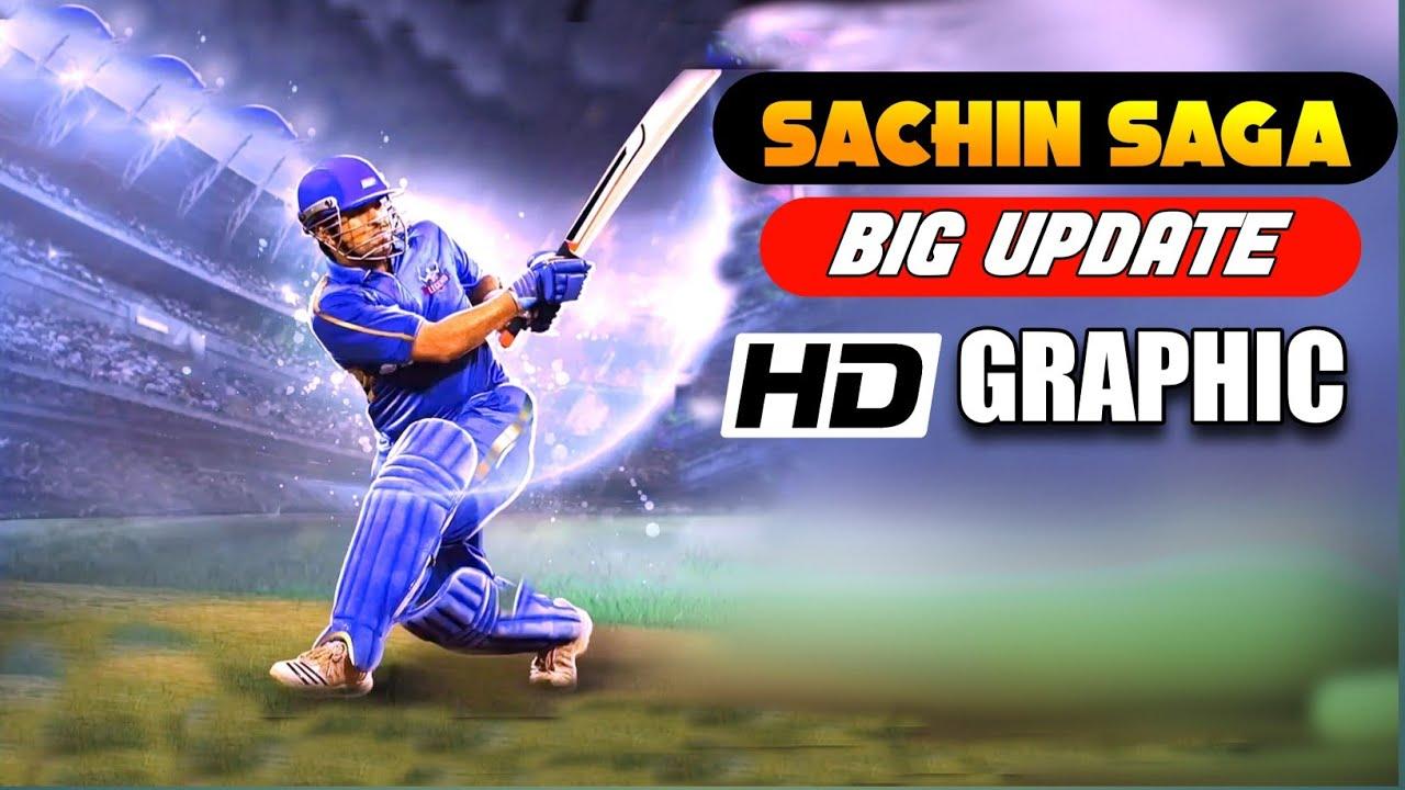🔥 Sachin Saga Big Update !! New HD Graphics , New Jersey and Much More !!!