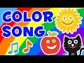 Color Song - Nursery Rhymes For Kids (Red, Yellow, Pink, Green) | Captain English Songs