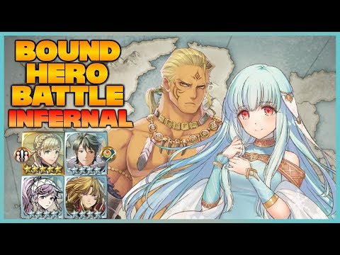 [F2P] INFERNAL Hawkeye and Ninian Bound Hero Battle - Fire Emblem Heroes