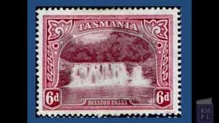 Tasmania Pictorial Stamps Part One  ( Stamp Collecting )