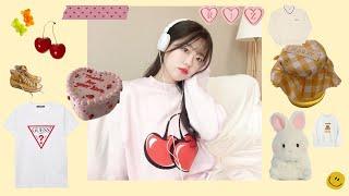 서울스토어 봄옷 하울맨투맨 룩북키르시/게스/소소한 구독…