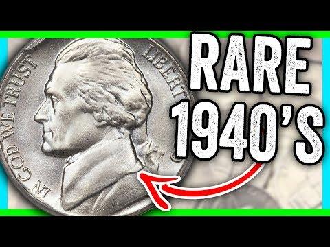 1940 NICKEL VALUES - RARE NICKELS WORTH MONEY!! - YouTube