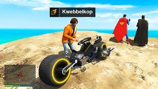 Stealing SUPERHERO Bikes In GTA 5 RP!