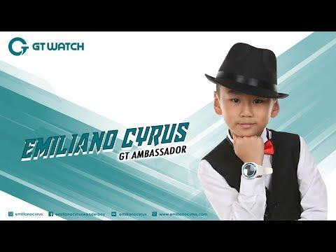 Presenting Emiliano Cyrus, Ambassador of GT Mobile, GT Watch Smartee1_2015-2016