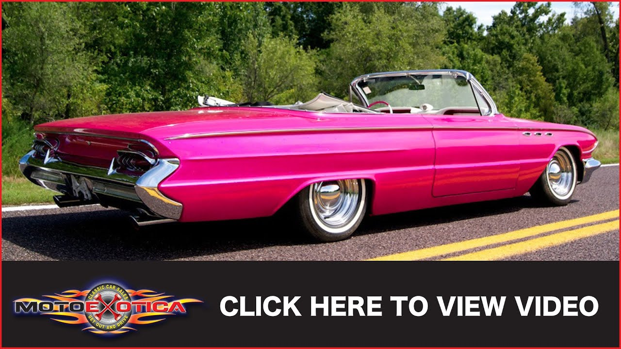 medium resolution of 1961 buick lesabre convertible sold