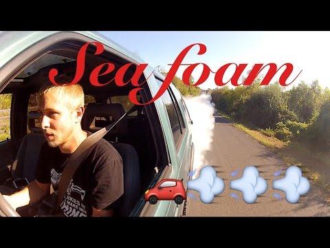SEA FOAM Honda Passport  -  ASSPORT Lots of Smoke