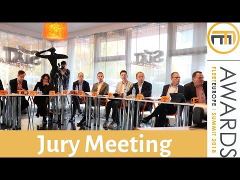 Jury Meeting 2018 Fleet Europe Awards for fleet managers