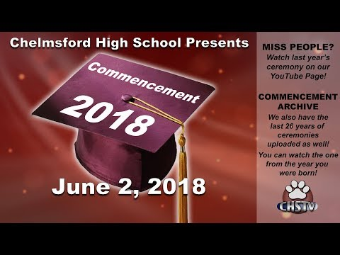 CHS Class of 2018 Commencement Ceremony