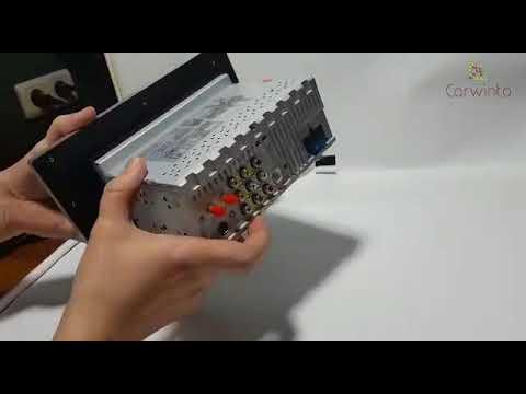 Универсальная магнитола экран 10 дюймов Android