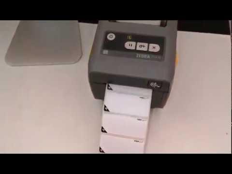 PREPsafe Zebra ZD410 printer label reset