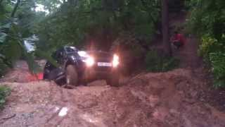 Ssangyong Rexton off-road 4x4 mud