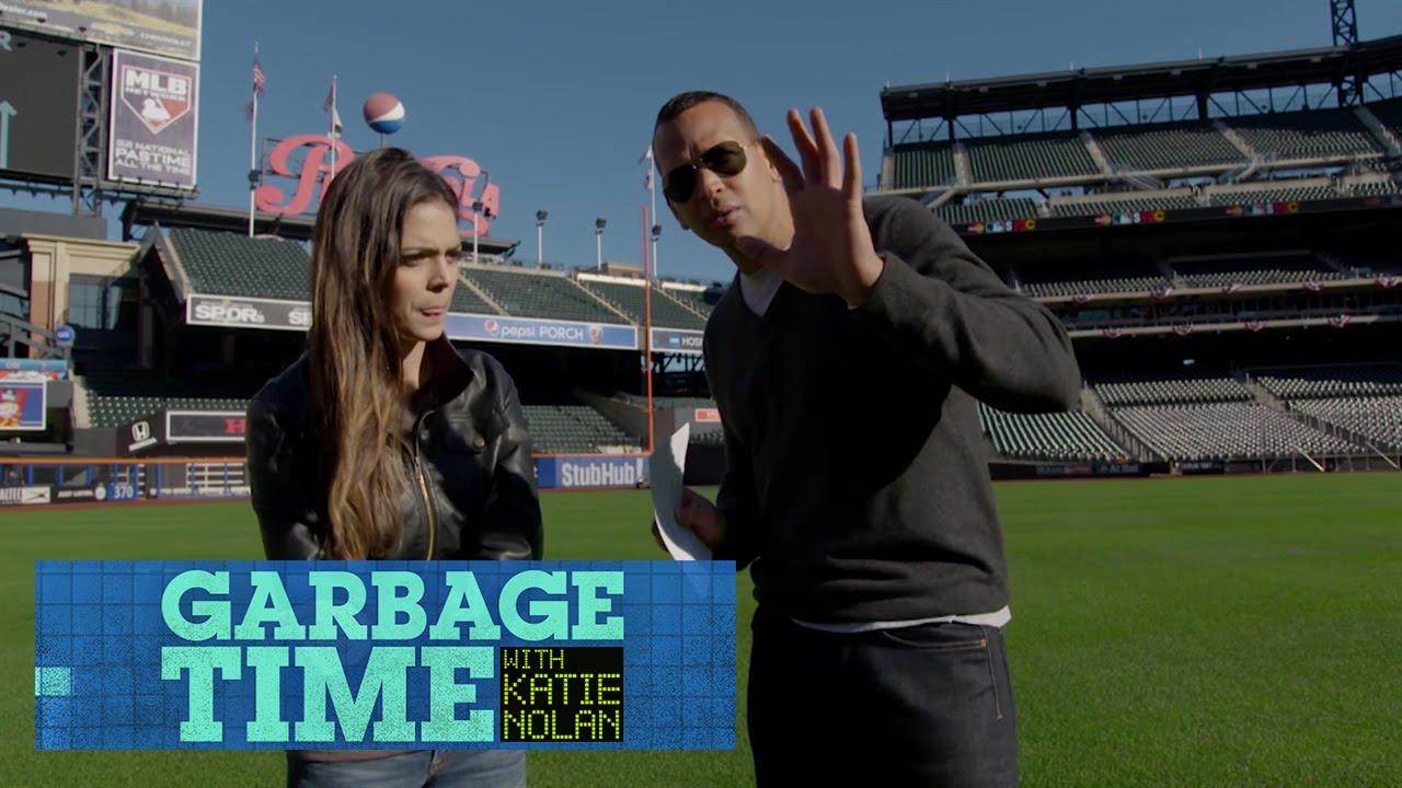 Garbage Time Bloopers Episode 9: Alex Rodriguez and Katie Nolan
