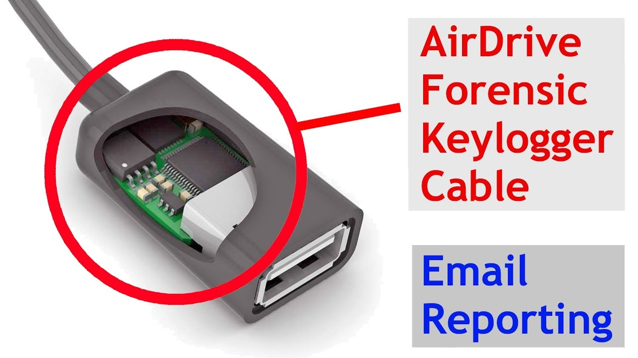 Hardware Keylogger - AirDrive Forensic Keylogger Cable/Module