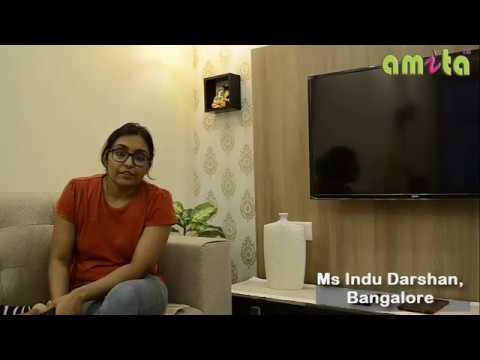 amita Curtains service is very good- Testimonial from Ms Indu Darshan