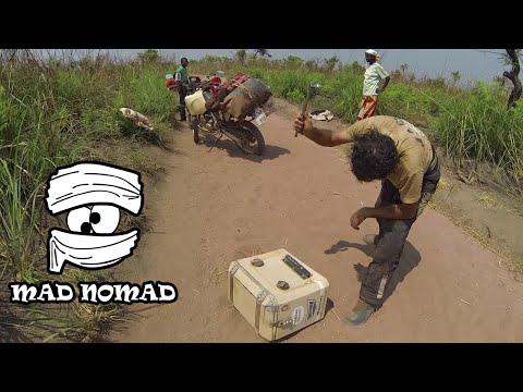 D. R. Congo motorcycle trip, Part 1/2 - mad nomad