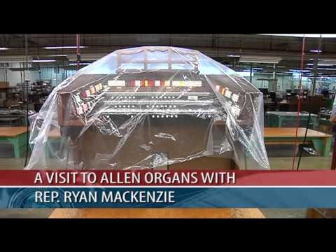 Legislative Report: Touring Allen Organ Company