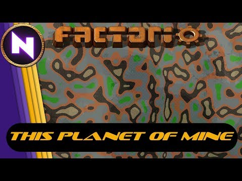"Factorio ""This Planet of Mine"" - December 20th 20:00 CET / 2 PM ET"