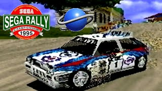 SEGA Rally Championship playthrough (SEGA Saturn)