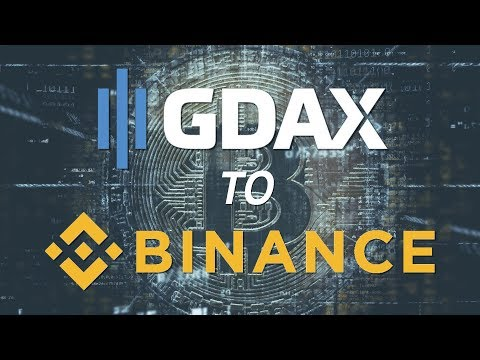 How to send BTC (Bitcoin) from GDAX to Binance