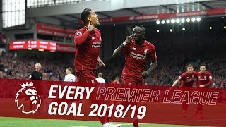 All 89 of Liverpool39s Premier League goals from the 201819 season