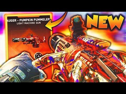 "*NEW* EPIC AUGER is TOO GOOD in Infinite Warfare! NEW EPIC ""AUGER - PUMPKIN PUMMELER"" GAMEPLAY!"