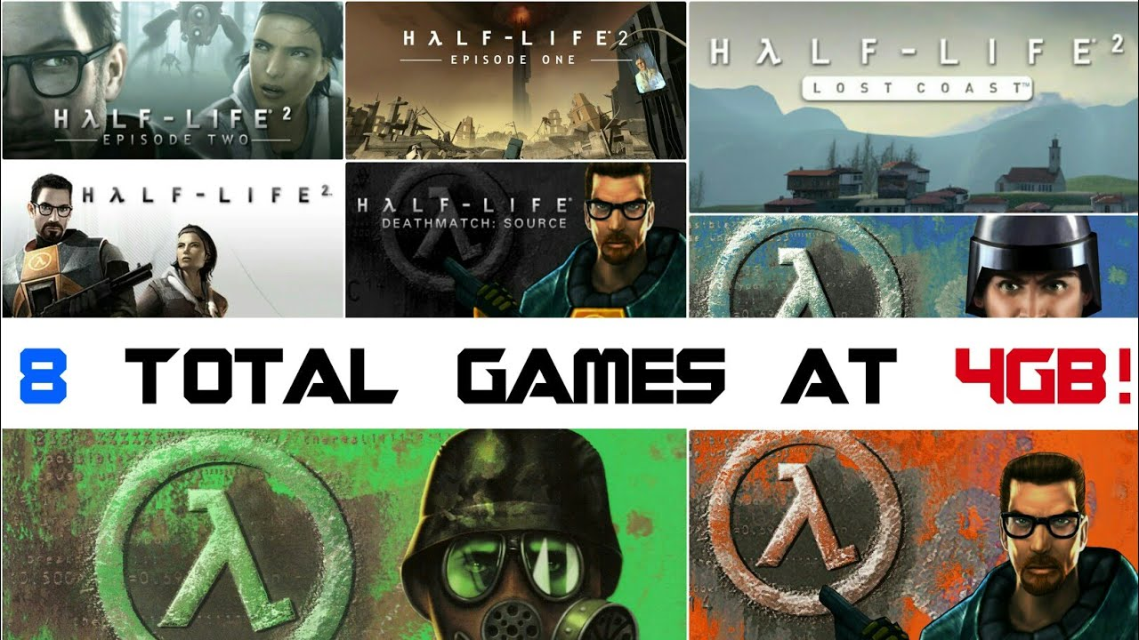 HALF LIFE ALL GAMES COLLECTION[ Highly Compressed] Download For Only 4GB!