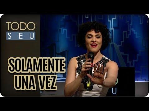 Solamente Una Vez | Hebe, O Musical - Todo Seu (17/01/18)