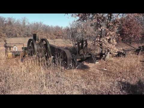 1930's Oilfield Pump Jacks still in service Jan 2014 - Oil City, Oklahoma  Part 2