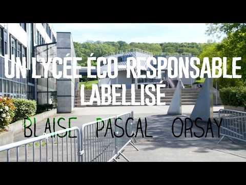Le lycée Blaise Pascal, lycée éco-responsable labellisé