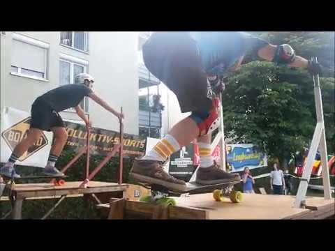 World Championships Slalom Skateboarding 2017