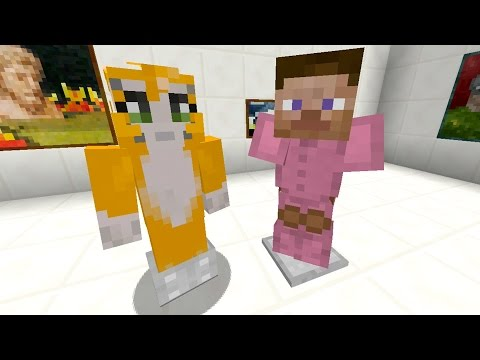 Minecraft Xbox - Building Time - Art Gallery {20}