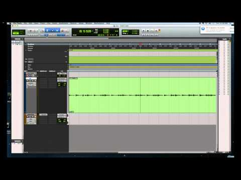 USING BEAT DETECTIVE TO EXTRACT A TEMPO MAP IN PROTOOLS