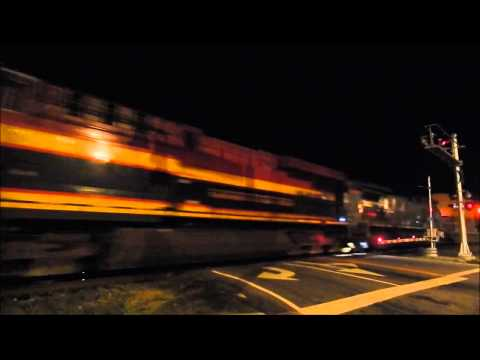 Railfanning Mableton & Austell at night 6/27 and 6/28/15: UP, KCS, BNSF, CEFX and a SD80MAC