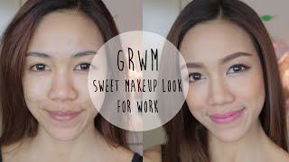 Get ready with me ♡ Sweet makeup look for work | Naked 2 Palette Thumbnail